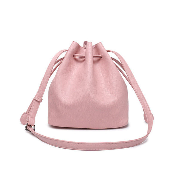 Simply Classic Bucket Leather Bag - Red Deer Store