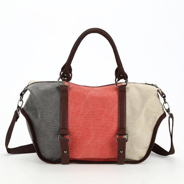 Very Very Large Canvas Messenger Bag - Red Deer Store