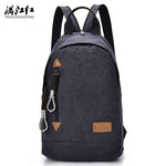Classic Design Canvas School Backpack - Red Deer Store