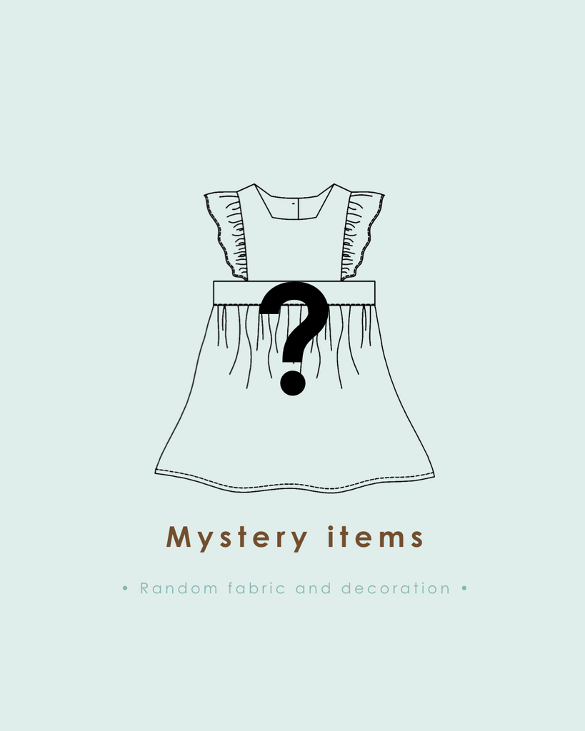 Mystery items • Limited spot •
