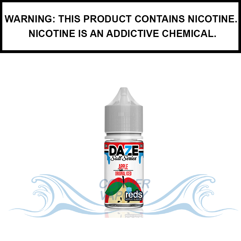 7 Daze Reds | Apple Iced - Nic Salt eJuice (30ml)