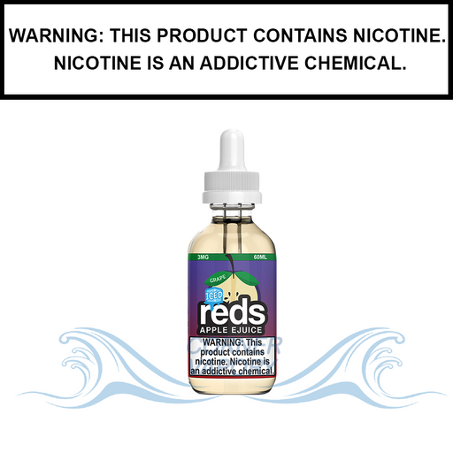 7 Daze Reds | Grape Apple Iced - eJuice (60ml)