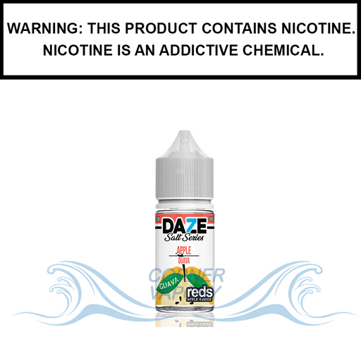 7 Daze Reds | Guava Iced - Nic Salt eJuice (30ml)