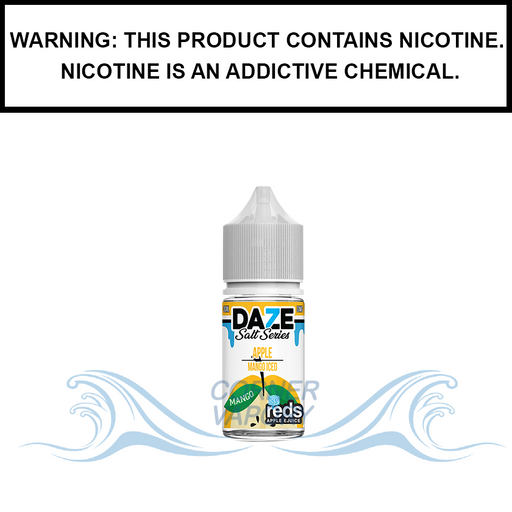 7 Daze Reds | Mango Iced - Nic Salt eJuice (30ml)