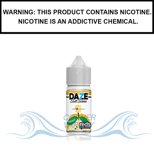 7 Daze Reds | Mango - Nic Salt eJuice (30ml)