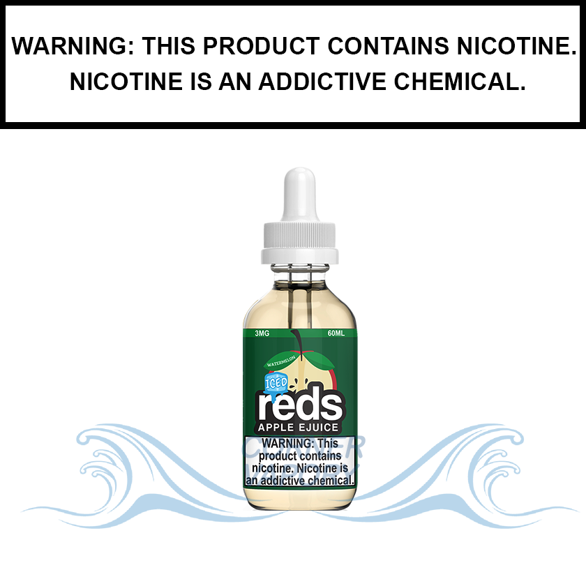 7 Daze Reds | Watermelon Iced - eJuice (60ml)