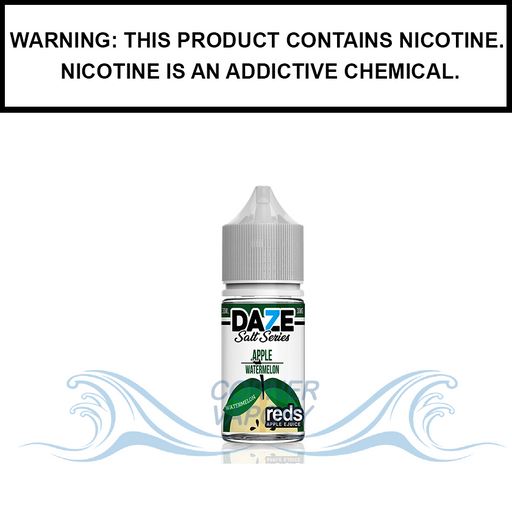 7 Daze Reds | Watermelon - Nic Salt eJuice (30ml)