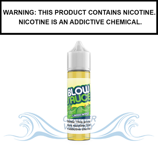 DripFire BlowSauce | Green Apple Hard Candy - eJuice (60ml)