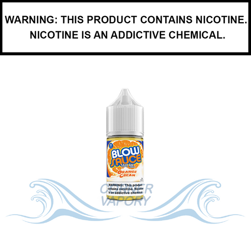 DripFire BlowSauce | Orange Vanilla Ice Cream - Nic Salt eJuice (30ml)