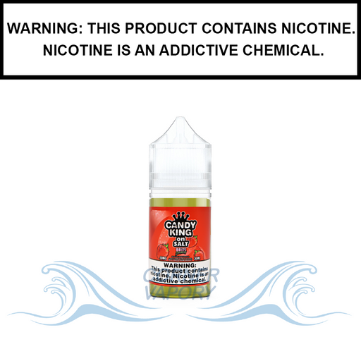 Drip More Candy King | Strawberry Belts - Nic Salt eJuice (30ml)