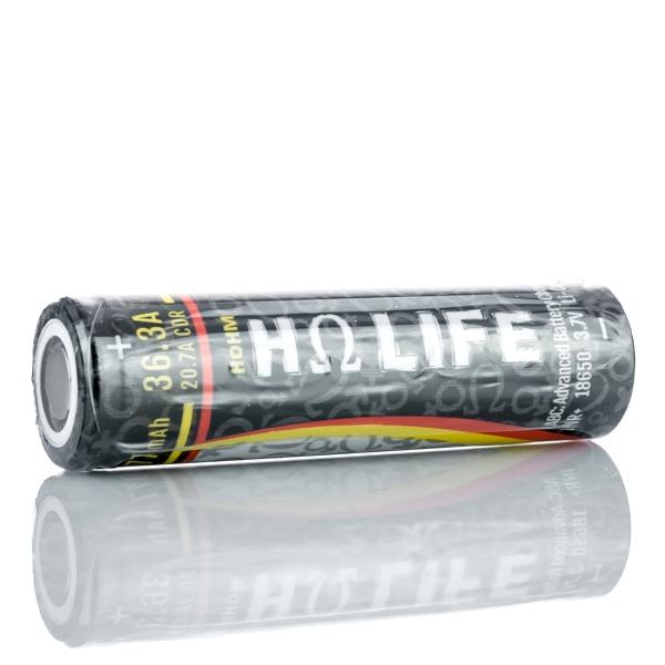 Hohm Life - 18650 Flat Top Battery - 3077 mAh (2 Pack)