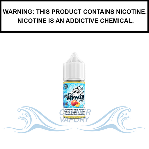 DripFire Mynto Ice | Peach - Nic Salt eJuice (30ml)
