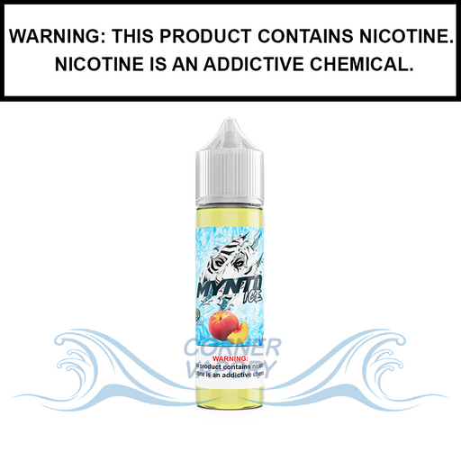 DripFire Mynto Ice | Peach - eJuice (60ml)