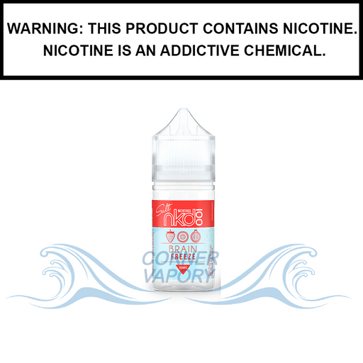 Naked 100 Menthol | Brain Freeze - Salt Nic eJuice (30ml)