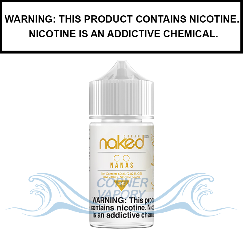 Naked 100 Cream | Go Nanas - eJuice (60ml)