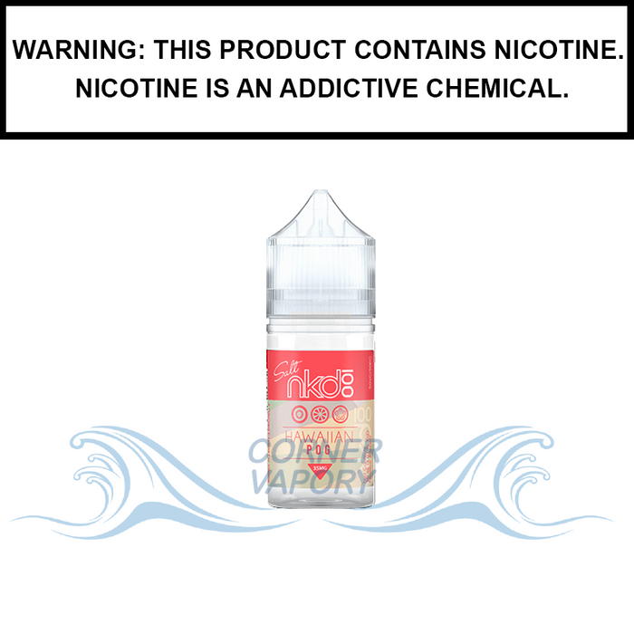 Naked 100 | Hawaiian Pog - Salt Nic eJuice (30ml)