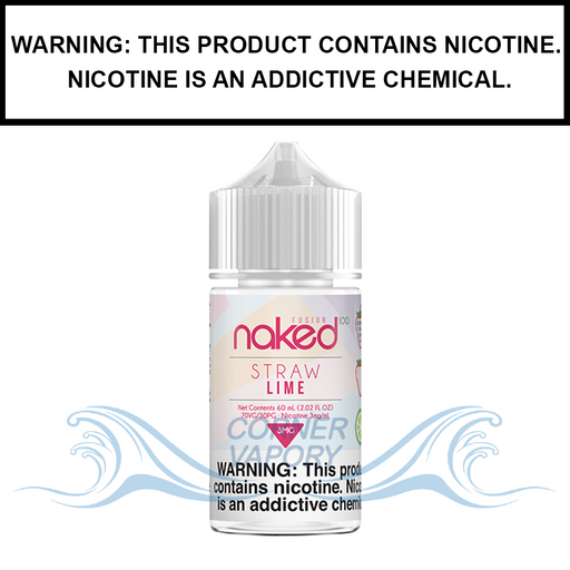 Naked 100 Fusion | Straw Lime (Formerly Berry Belts) - eJuice (60ml)