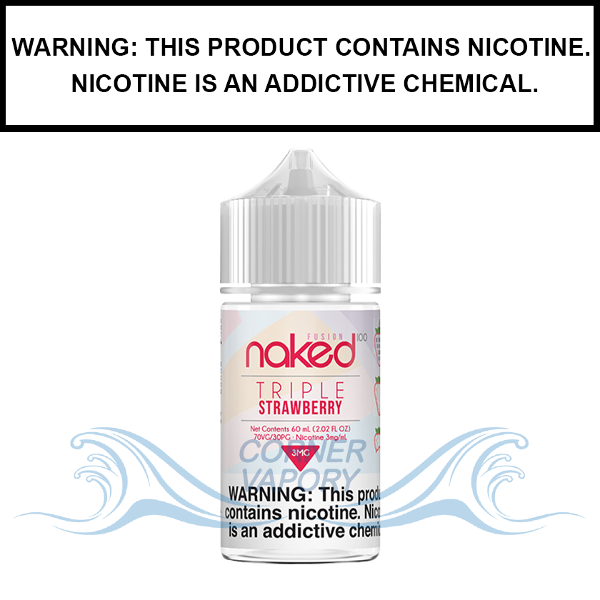 Naked 100 Fusion | Triple Strawberry (Formerly Yummy Gum) - eJuice (60ml)