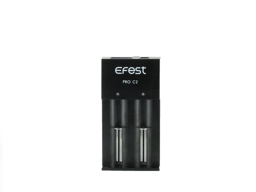 Efest - PRO C2 2-Bay Smart Battery Charger vape shop pros wholesale