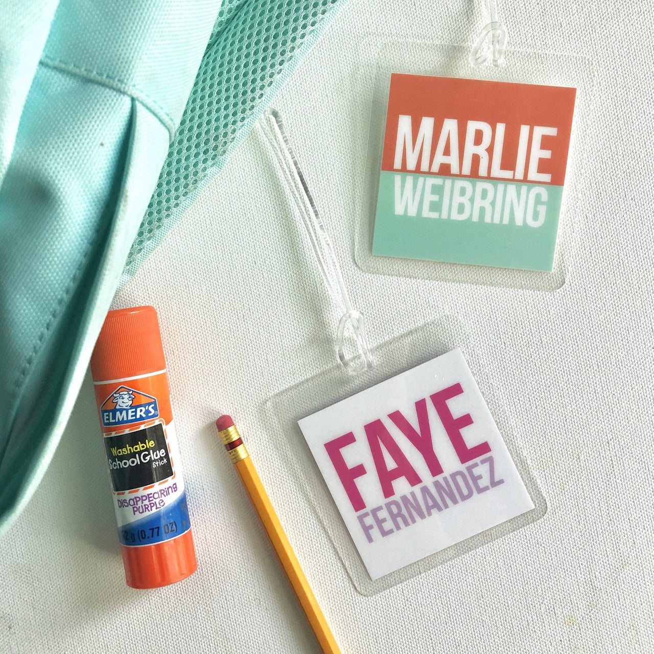 Custom Backpack/Luggage Tag - Joy Creative Shop