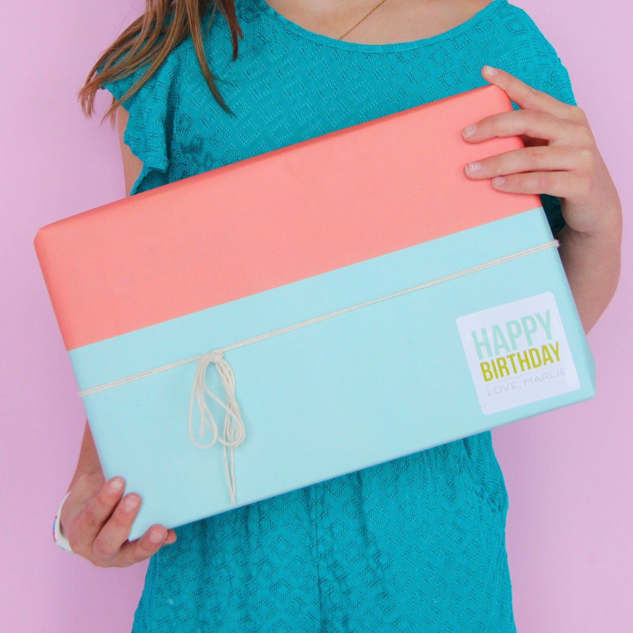 Color Block Gift Wrap - Joy Creative Shop