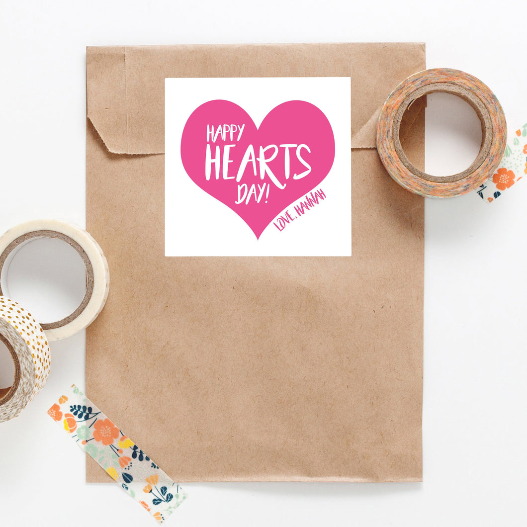 Large Heart Personalized Sticker - Joy Creative Shop