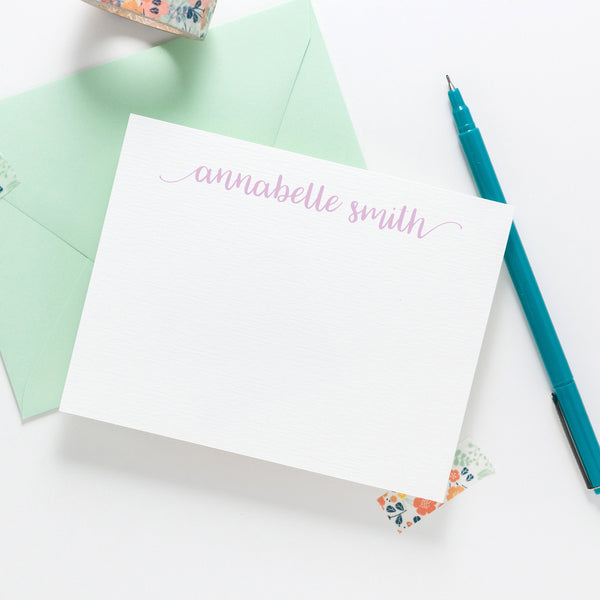Calligraphy script stationery - Joy Creative Shop