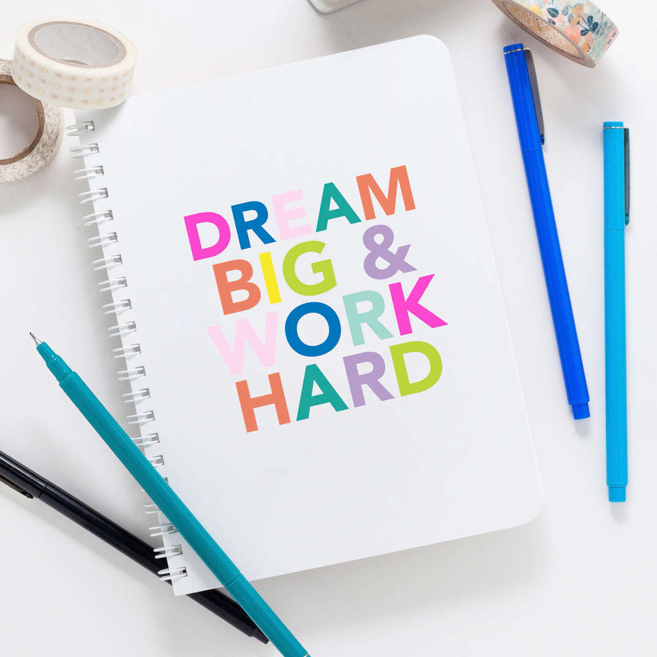Dream Big Notebook - Joy Creative Shop