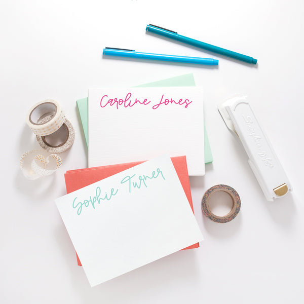 Handwritten Name Stationery - Joy Creative Shop