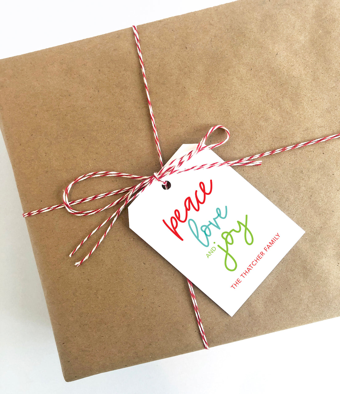 Peace love and joy Tag,Christmas Tag,Holiday Packaging,Gift Tag,Holiday Gift Tag,Personalized Gift Tag,Custom Tag,Christmas Packaging 011HT - Joy Creative Shop