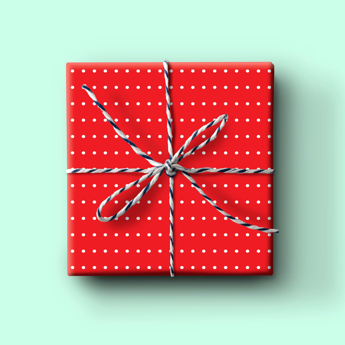 Red Dot Holiday Gift Wrap