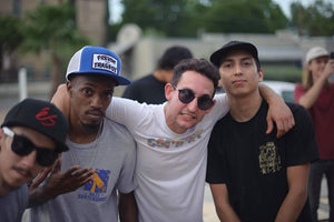 Timmy- artist, Diz the boss, Cam- Commit Grip CEO, & Paco owner of KOSA. Sick shot by Erik Gustafson