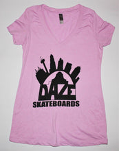 City Logo girls tee - Daze Skateboards