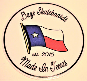 Made in Texas sticker
