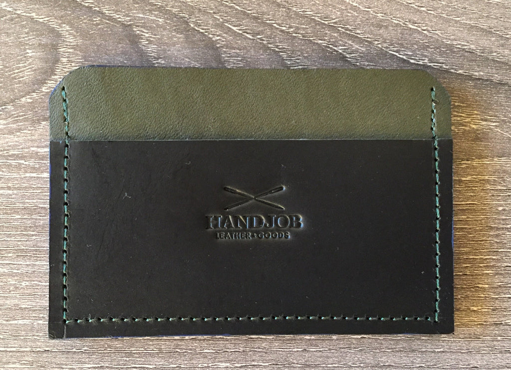 Classic Leather Card Holder Wallet