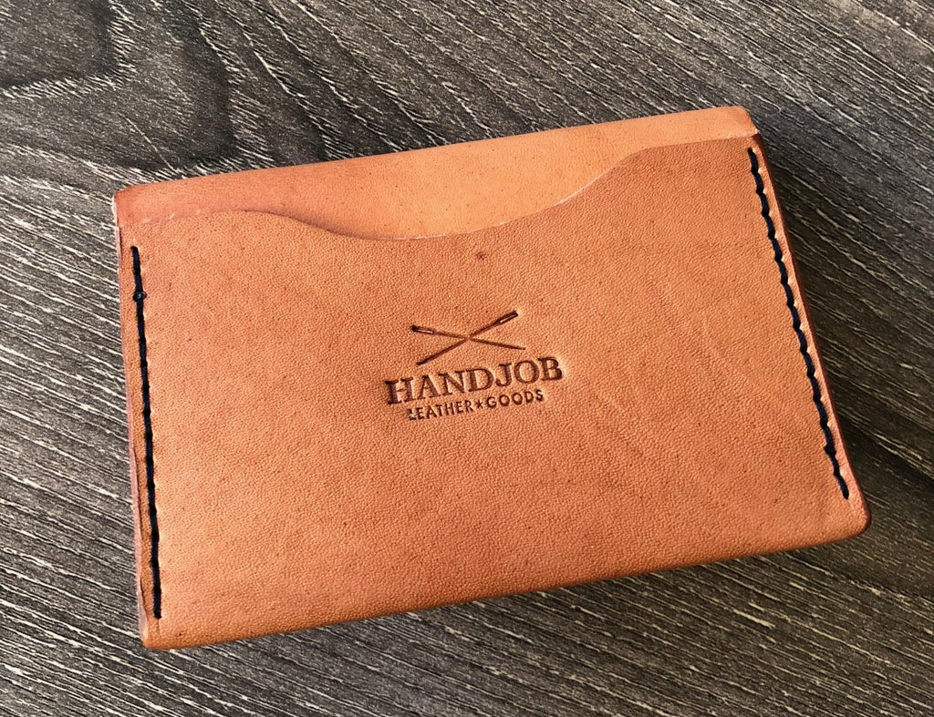 Modern Leather Bi-fold 4 Pocket Wallet