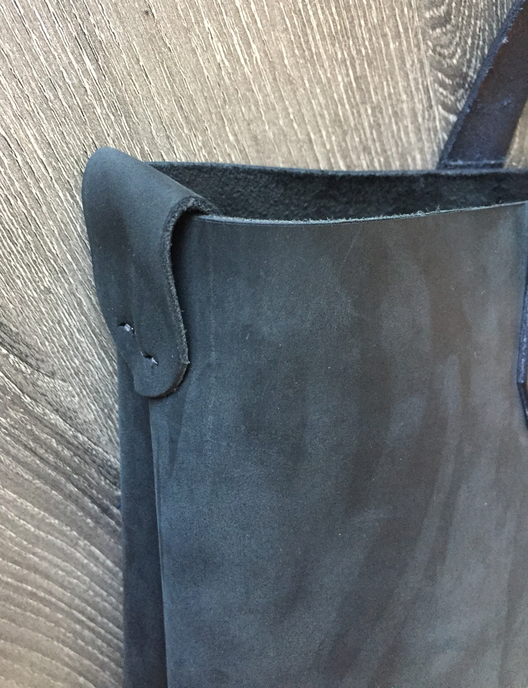 Classic HJ Leather Tote Bag