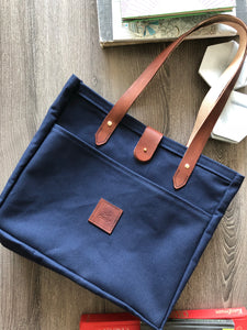 The Balmoral Bag Navy Blue Lg