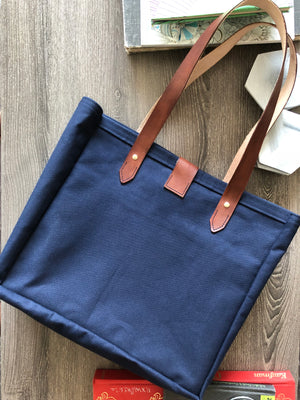 The Balmoral Bag Navy Blue Mini