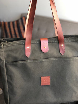 Hunter Green Mini Balmoral Bag