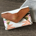 Decoupage Letaher Card Holder
