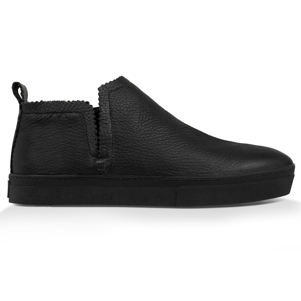 Ankle Amora^^ - Couro Floater ALL Black