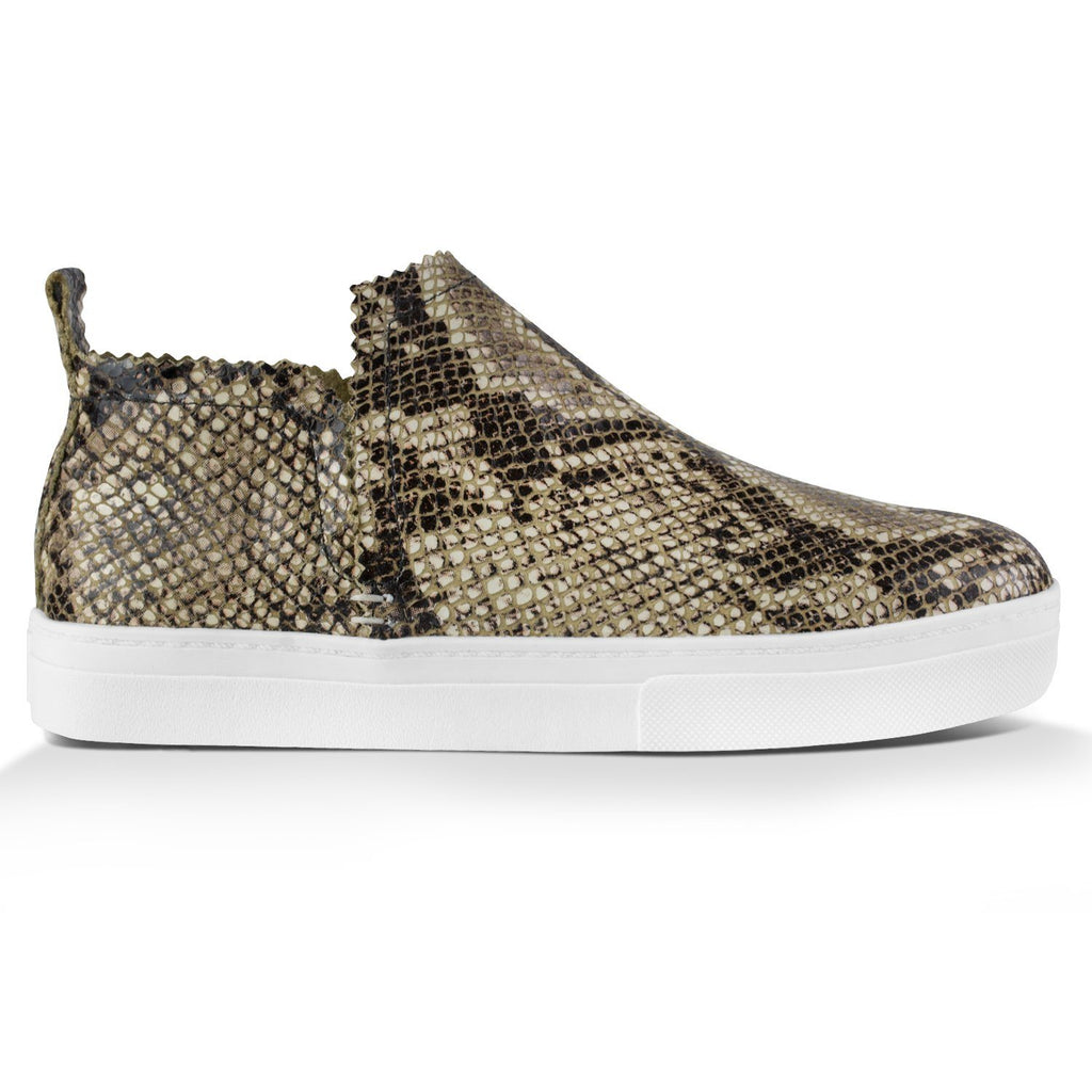 Ankle Amora^^ - Couro Python Natural