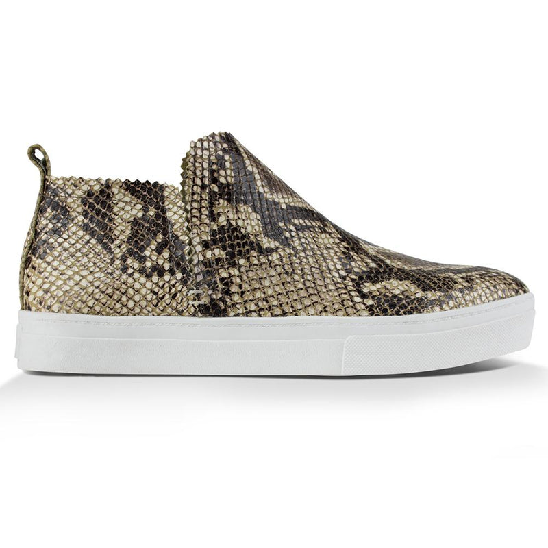 Ankle Amora^^ - Couro Snake Natural