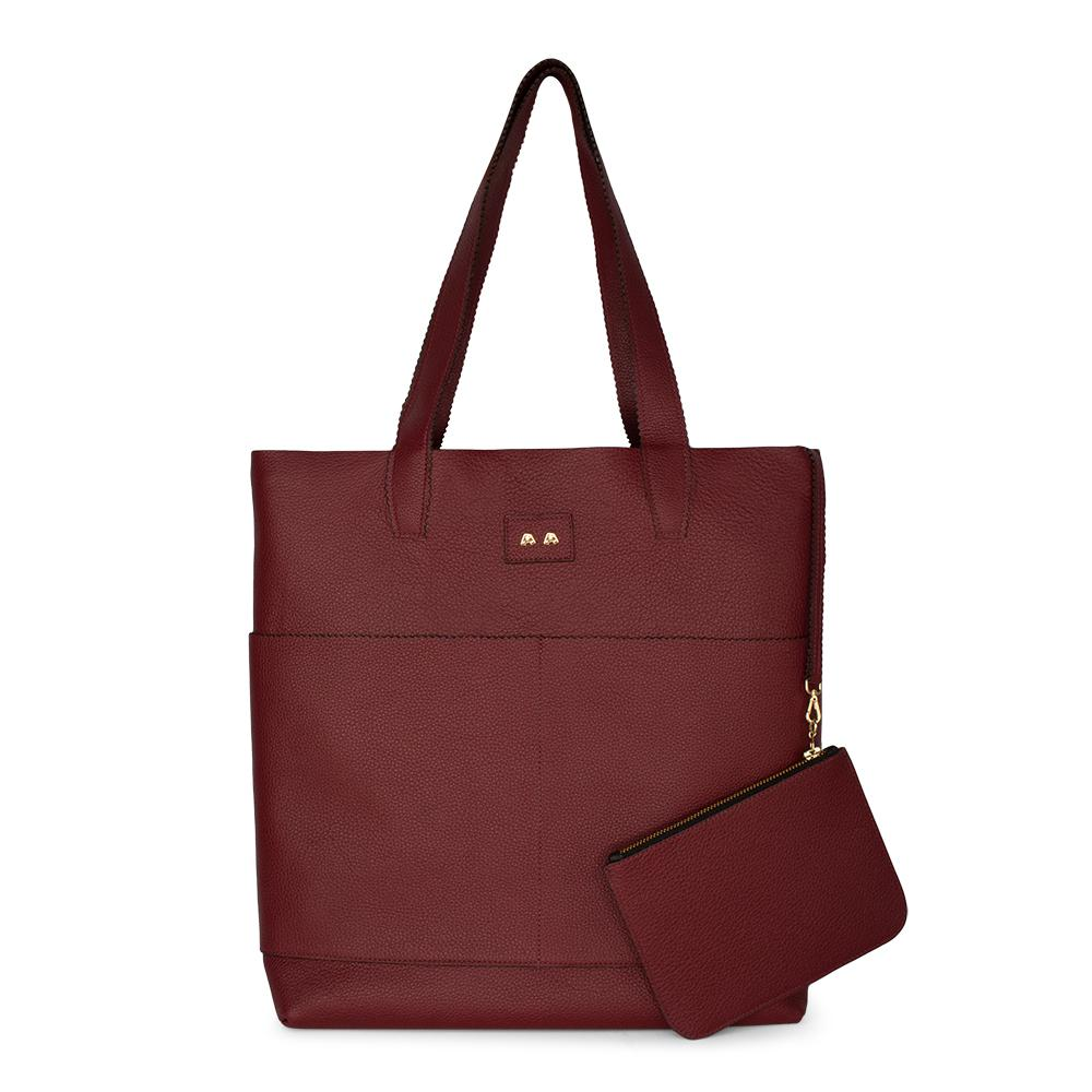 Bolsa Shopping Bag Dorothy^^ - Couro Red