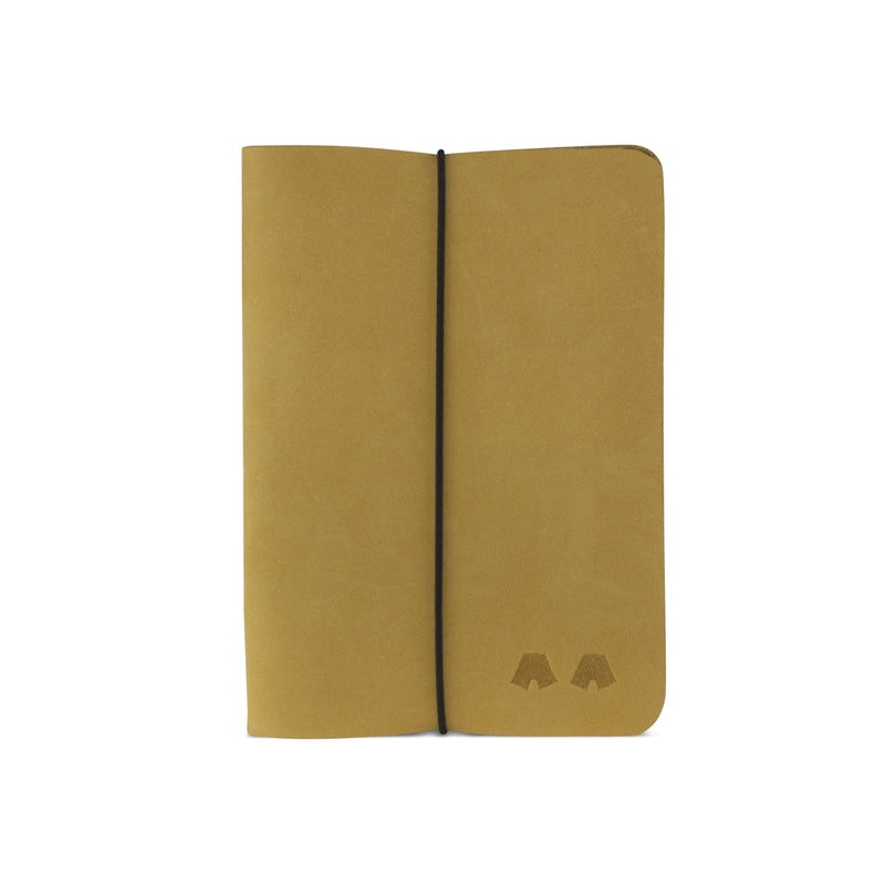 Notebook Clo^^ - Couro Yellow