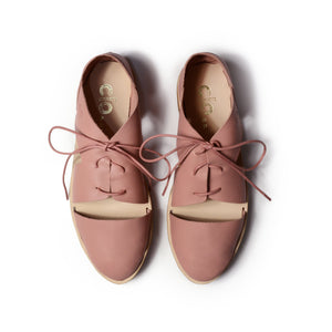 Oxford Magui^^ - Couro Napa Blush Antique