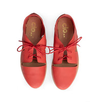 Oxford Magui^^ - Couro Scarlet Red