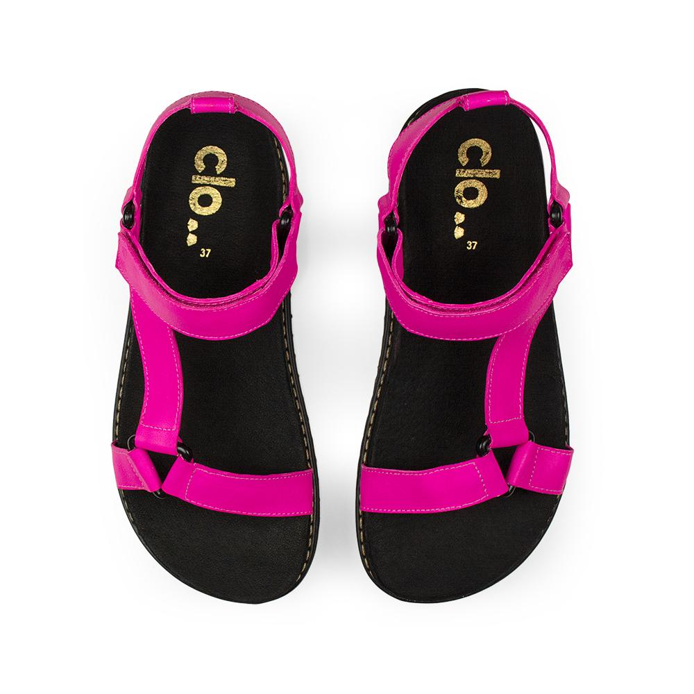 Papete Bebel^^ - Couro Neon Pink