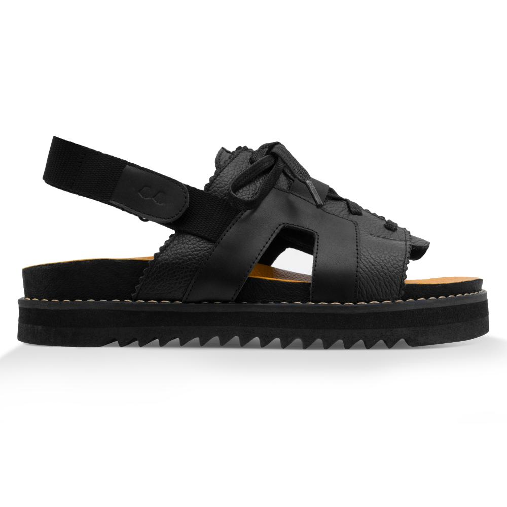Papete Ziggy^^ - Couro Floater All Black